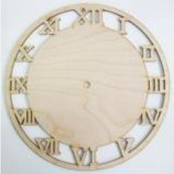 Часы основа деревянная