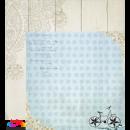 Бумага двухсторонняя для скрапбукинга 30*30 см